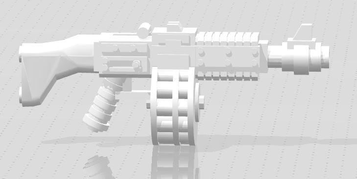 Heavy Ripper Gun 3D Model in Heavy Weapon 3DExport