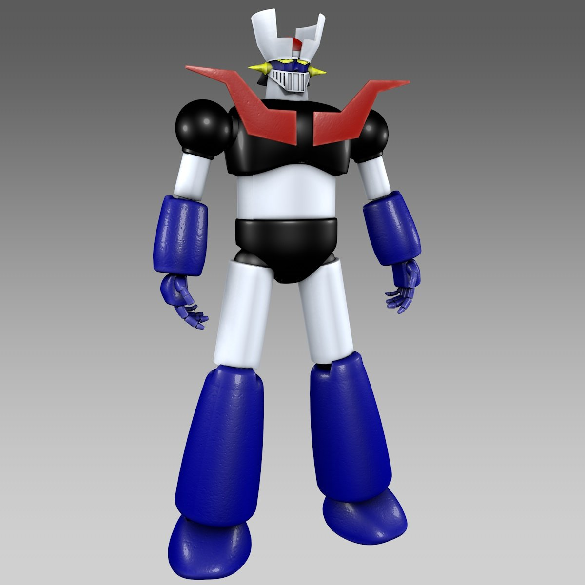 Low poly mazinger z show and tell talk manufacturing | 3d hubs.