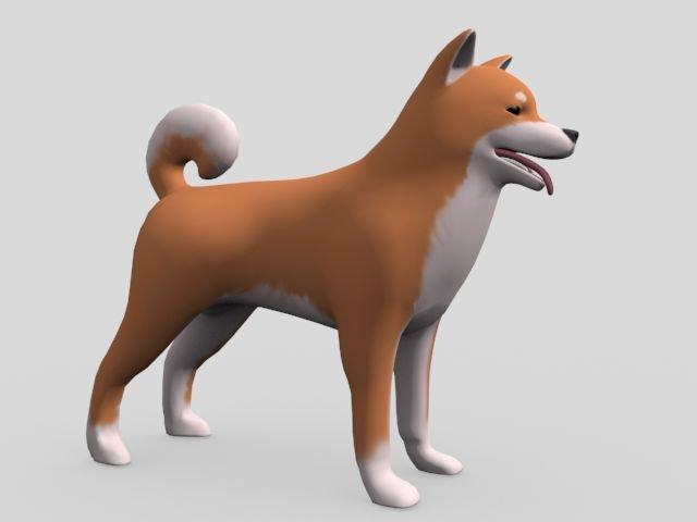 DOG Free 3D Model in Dog 3DExport