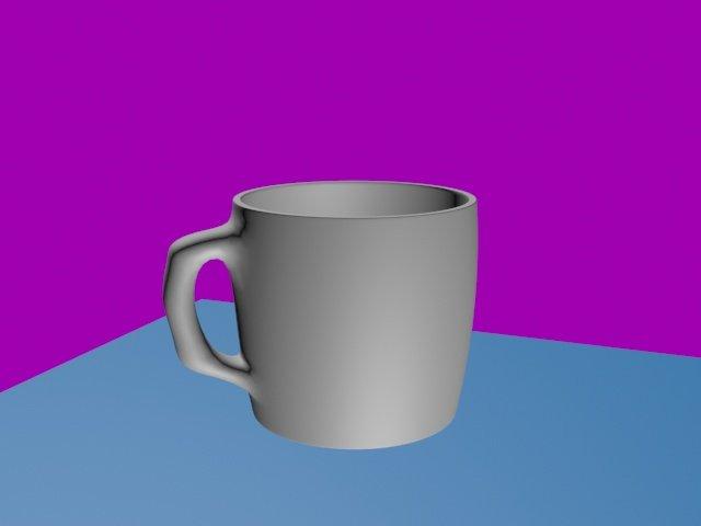 Coffee Mug 3D Model in Cookware Tools 3DExport