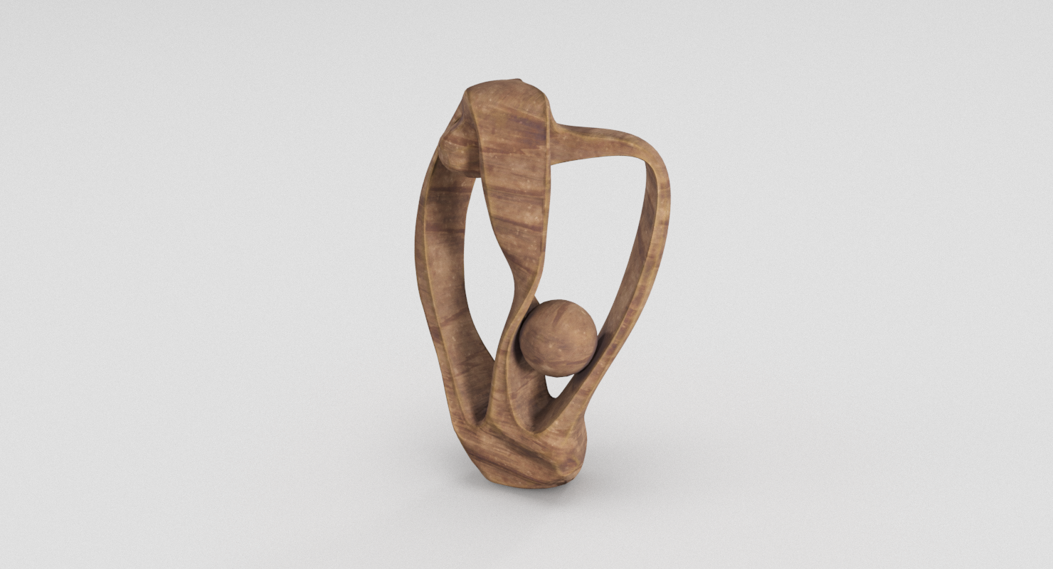 wood sculpture 3d model in decoration 3dexport rh 3dexport com