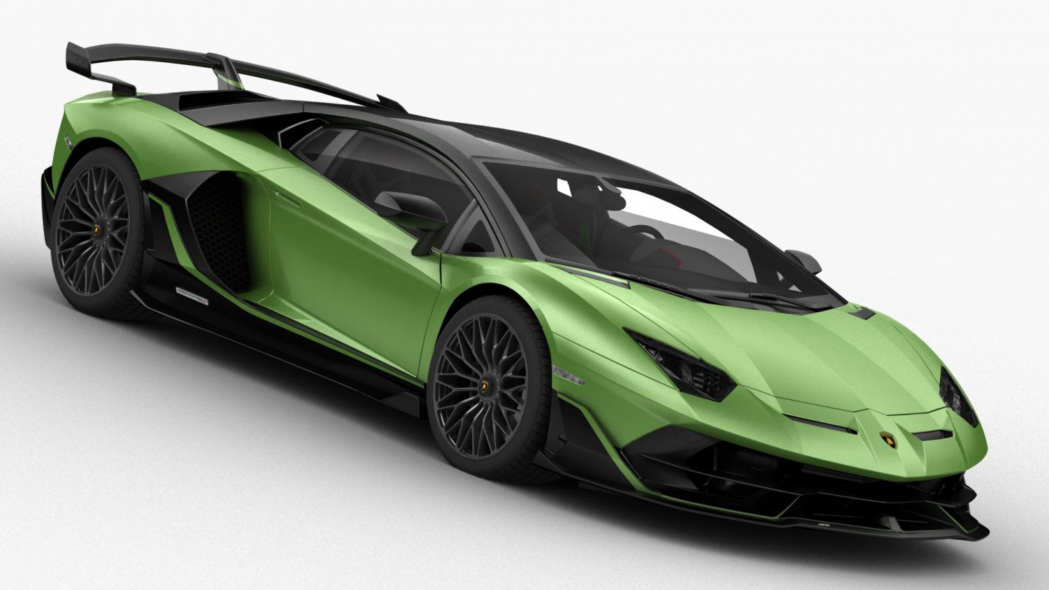 Lamborghini Aventador Svj 2019 Hq Interior 3d Model In Sport Cars