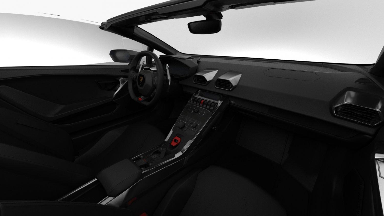 Lamborghini Huracan Performante Spyder 2019 Hq Interior 3d Model