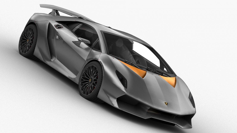 Lamborghini Sesto Elemento Hq Interior 3d Model In Sport Cars