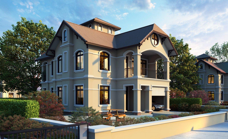Vp villa 3d model in buildings 3dexport