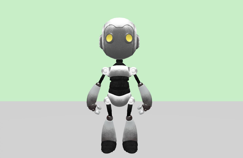 ROBOTO Gratis Modelo 3D in Otros 3DExport