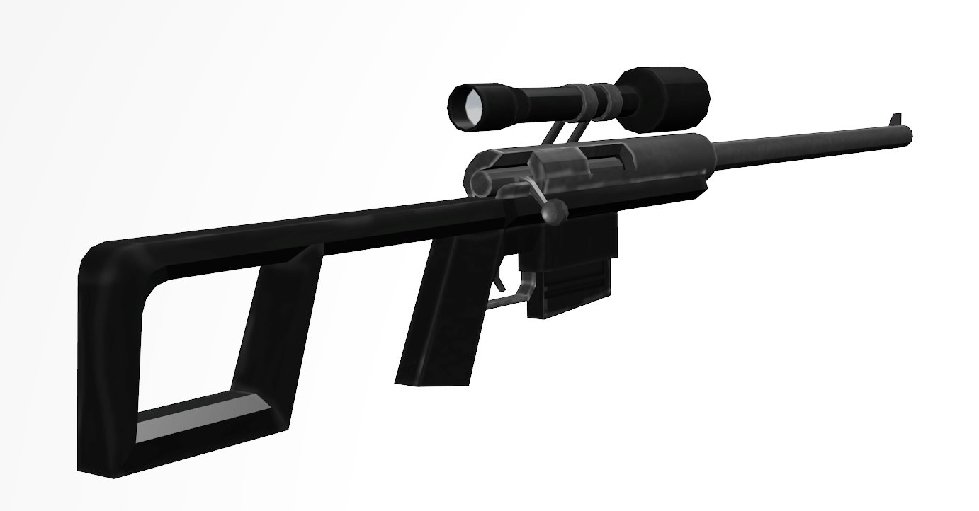 New simple AWP for Counter-Strike 16 Free 3D Model in Assault Rifles  3DExport