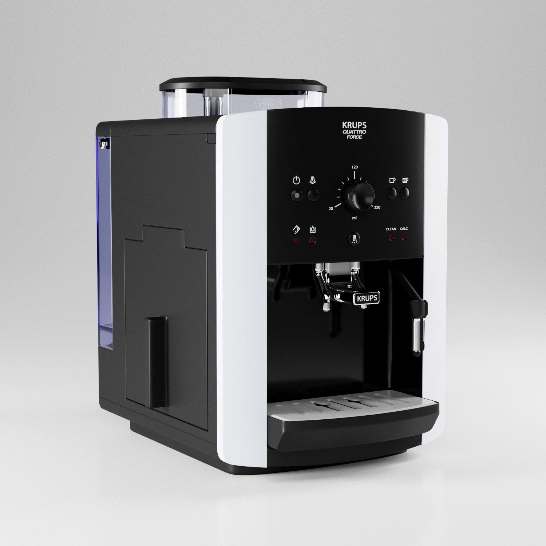 Coffee machine KRUPS EA8118 3D-Modell in Haushaltsgeräte 3DExport