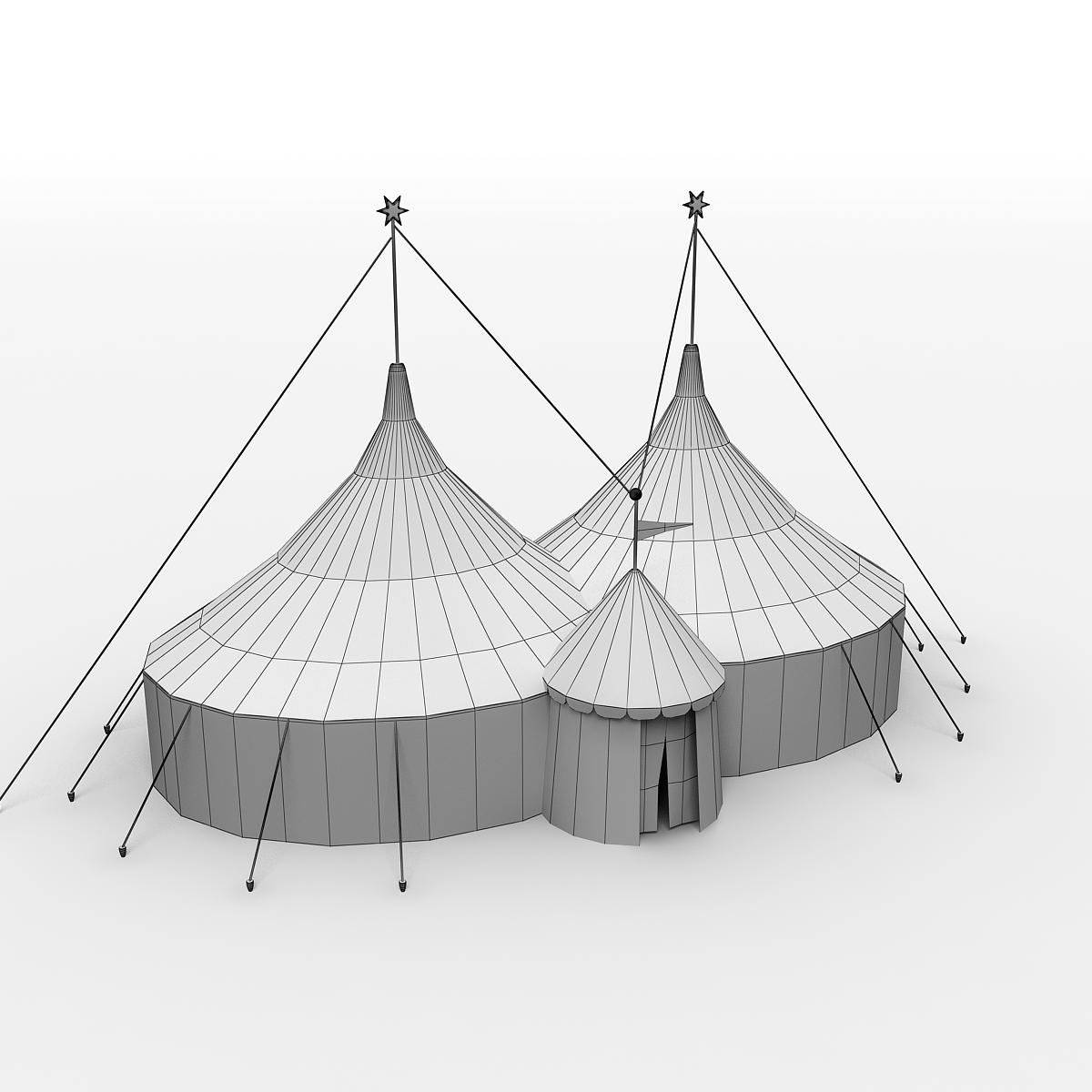 13 Paper Circus Tent Craft