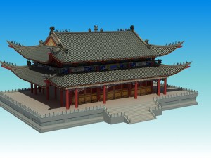 chinese forbidden city 3d model 3D Models Download Available formats