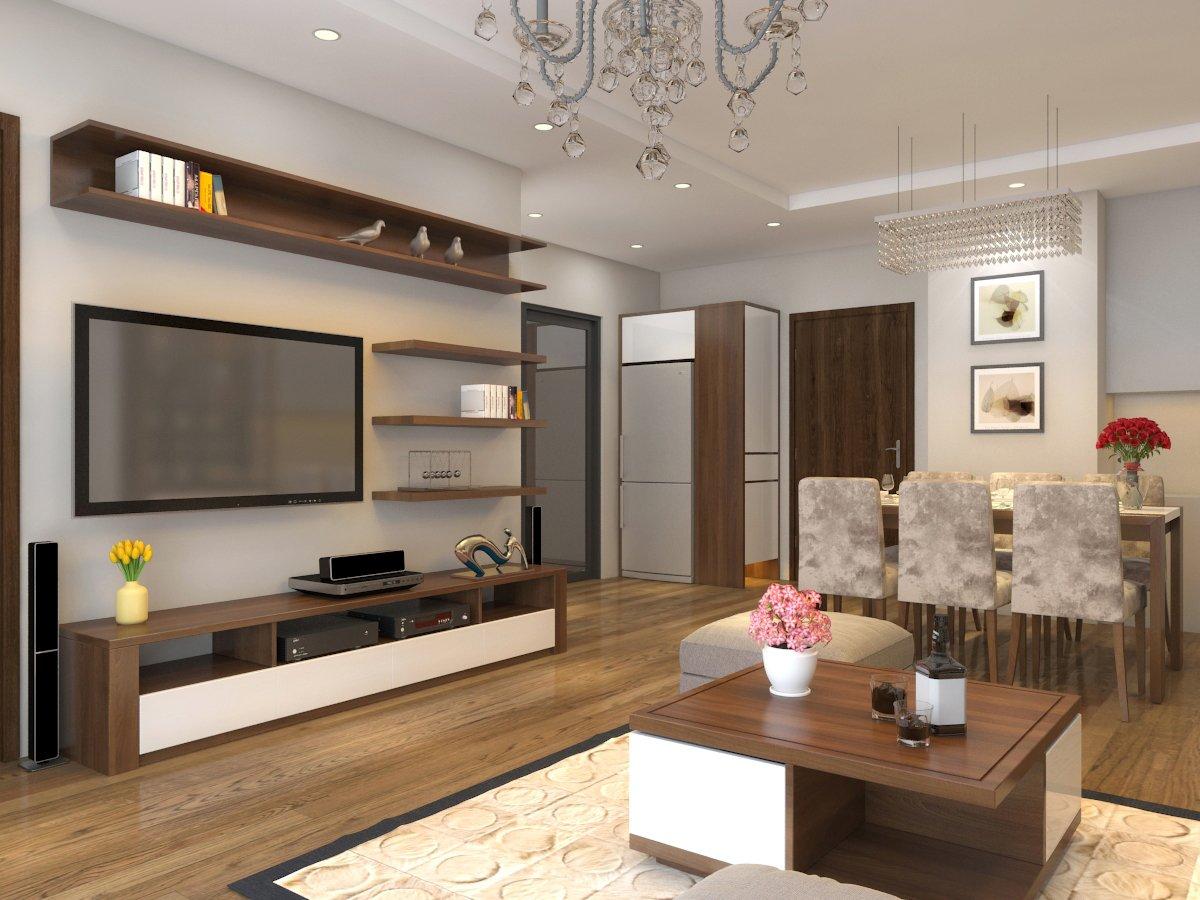 apartment livingroom simple 3d model c4d max obj fbx ma lwo 3ds 3dm stl o