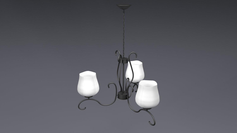 Simple ceiling lamp Free 3D Model in Ceiling Lights 3DExport