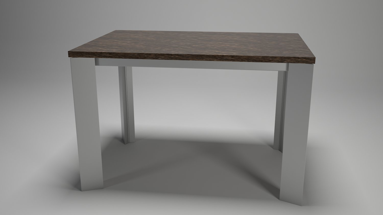 Table For Kitchen Dining Room Steel Wood Materals 3d Model In 3dexport