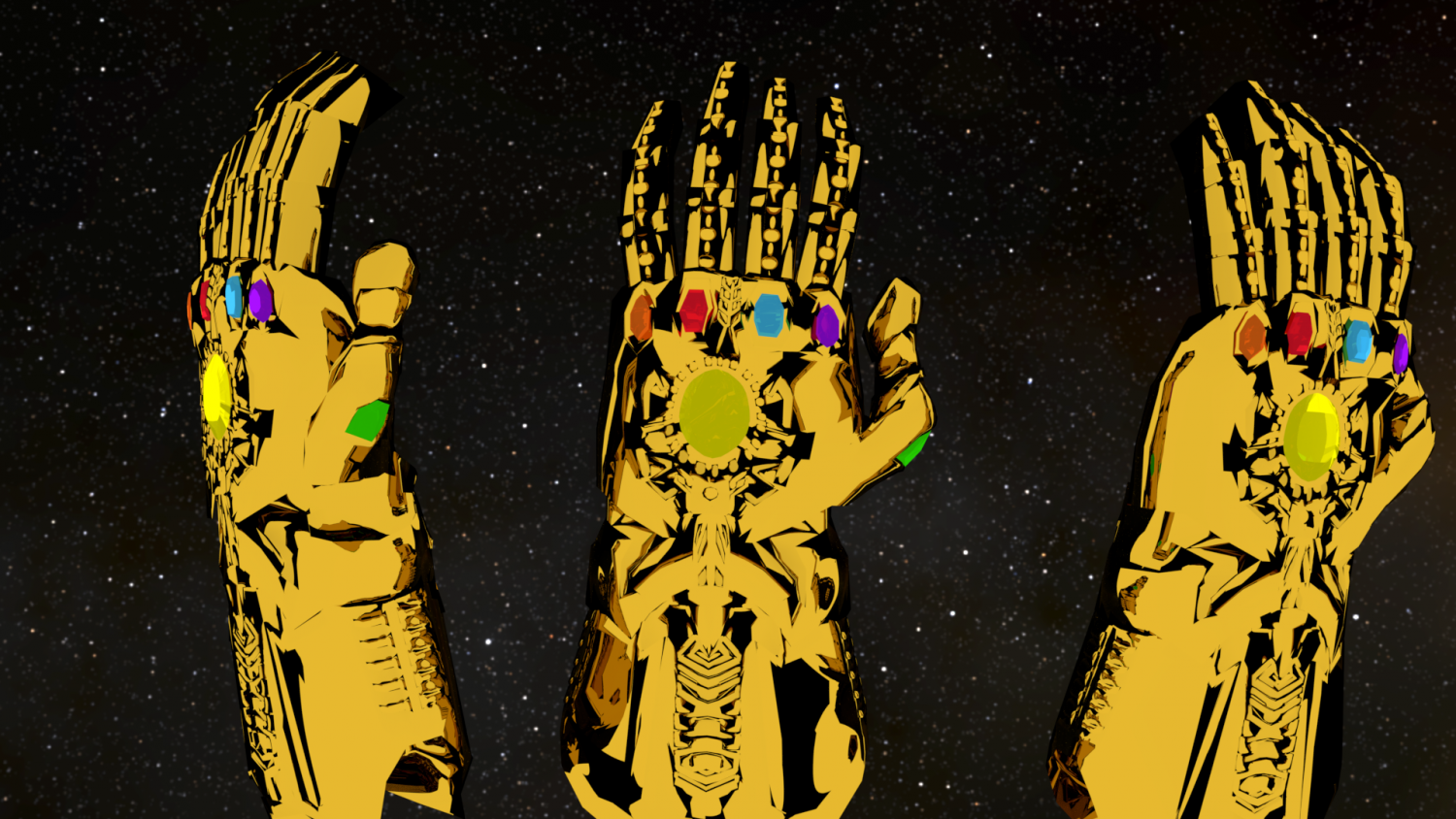 infinity gauntlet 3d model in other 3dexport