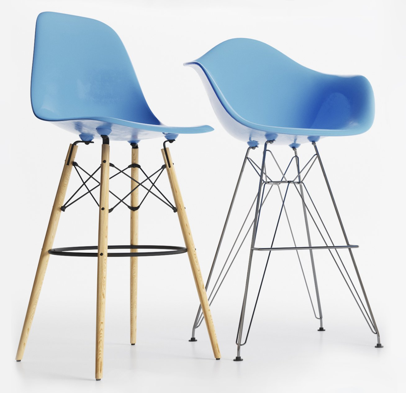 Eames Plastic Side Chairs. Remove Bookmark Bookmark This Item