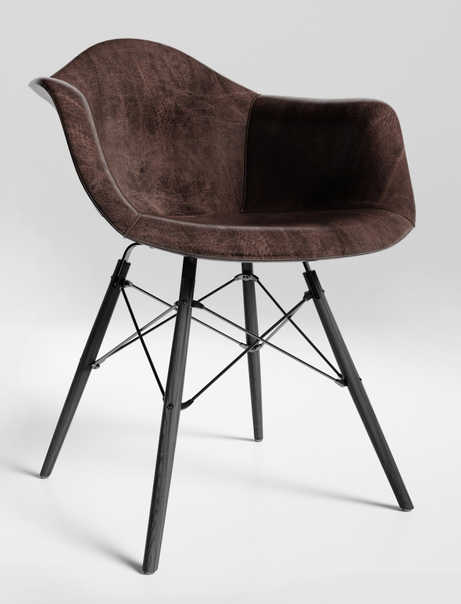 Leather Chairs Eames By Loftdesigne 3D Model