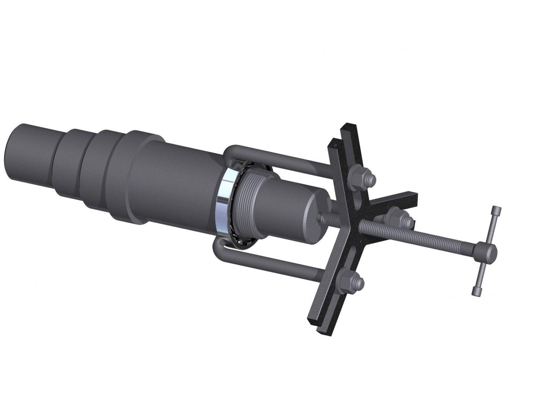 Bearing Puller Free 3d Model In Tools 3dexport
