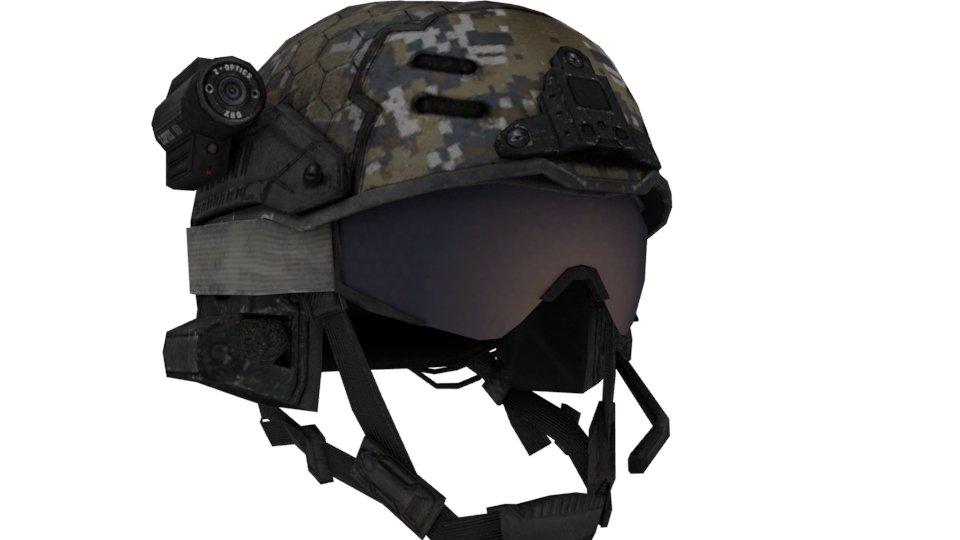 Army Helmet 3D Model in Combat 3DExport