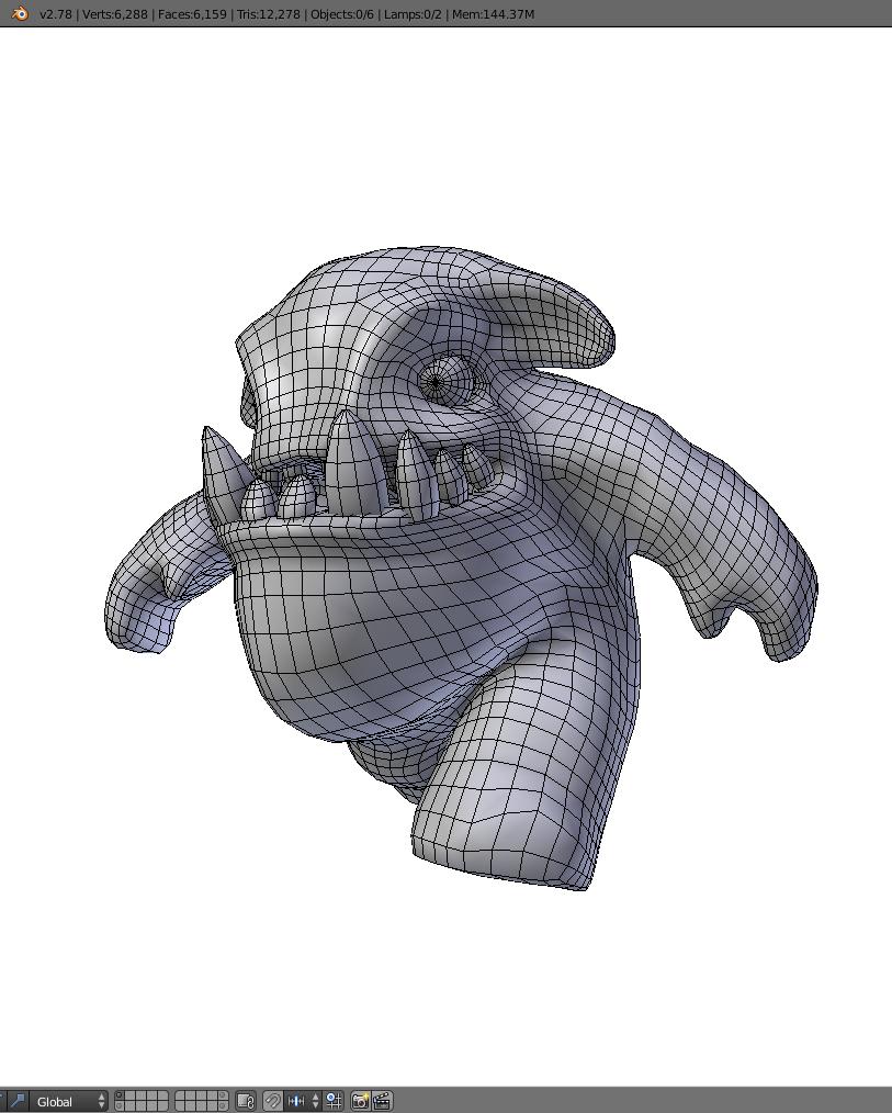 Monstro Higo Animations-Riggs-Unity files 3D Model in Cartoon 3DExport