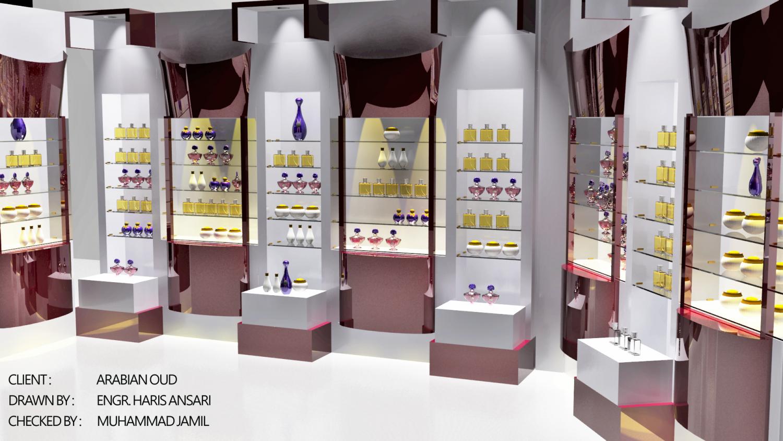 Perfume Shop 3D Model in Store Spaces 3DExport