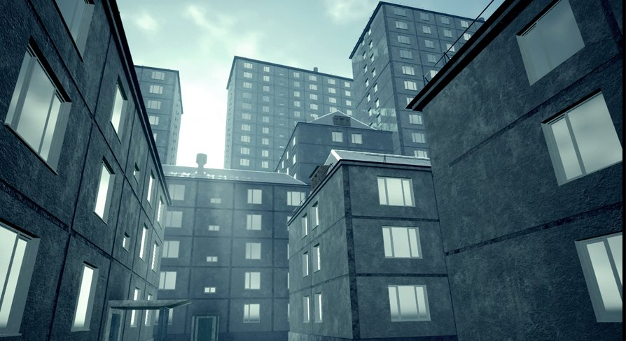 Soviet Apartment Buildings Full Collection Model In Export