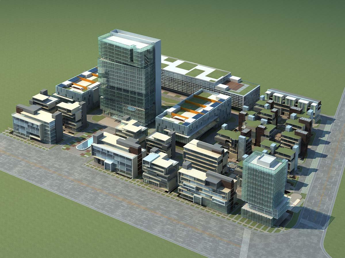 City 3D Model in Cityscapes 3DExport