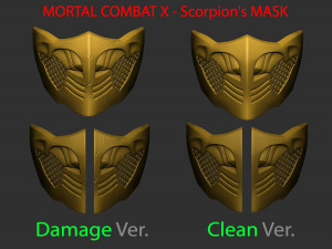 Vega Mask Street Fighter For Cosplay 3d Model In Coins And