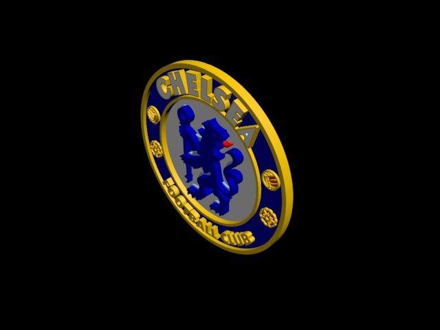 CHELSEA FC 3d Logo or Badge 3D Model in Awards 3DExport d0a4f0a43