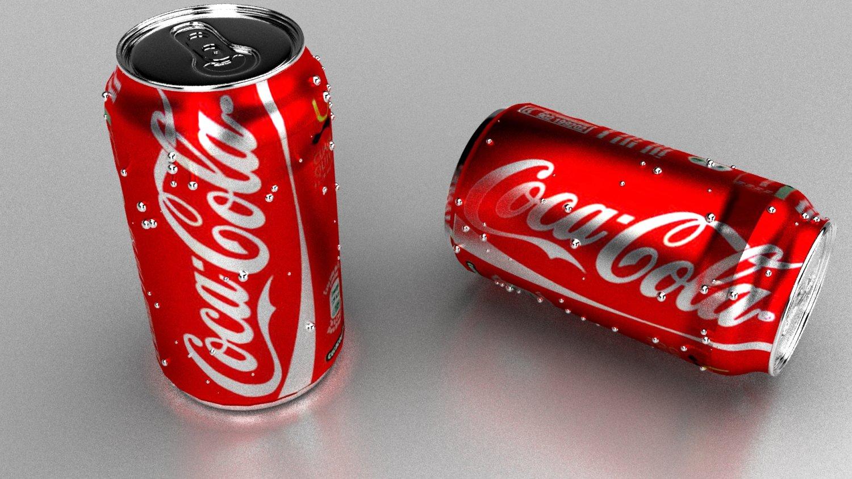 Cocacola 3D Model in Beverage 3DExport