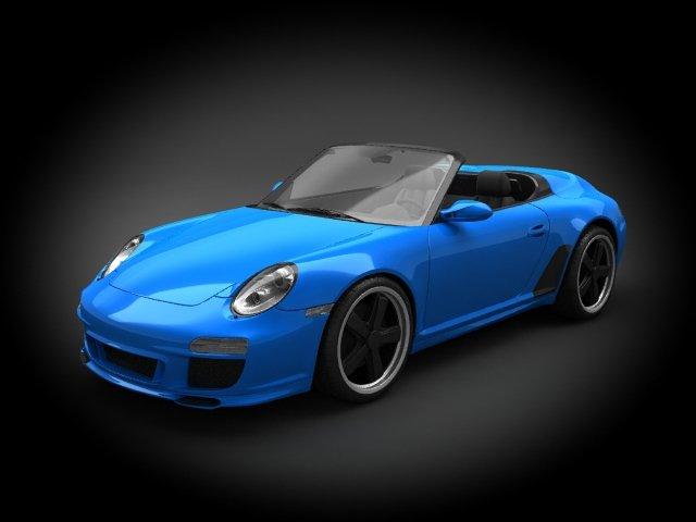 Porsche 911 Speedster 2011 3d Model In Sport Cars 3dexport