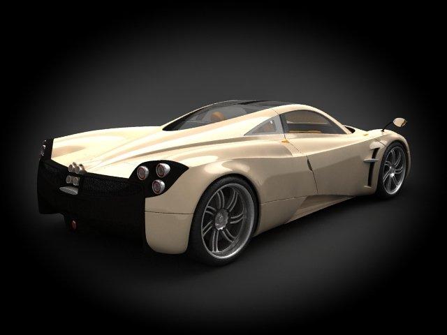 Pagani Huayra 2012 3d Model In Sport Cars 3dexport