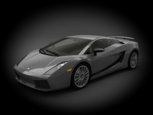 Lamborghini Gallardo 2011 Superleggera 3D Model