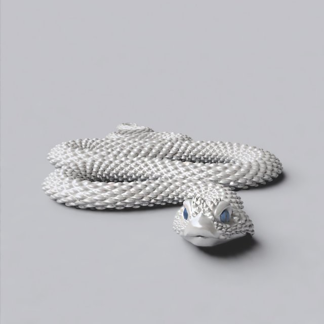 Snake 3D Model in Reptiles 3DExport