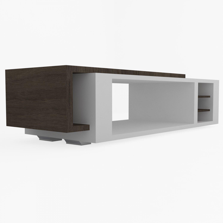 Modern coffee table 3d model in table 3dexport