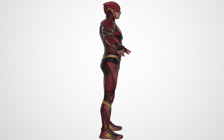 Flash 3D Model in Fantasy 3DExport