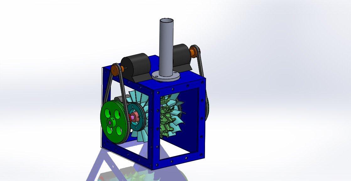 Multi Runner Pelton Wheel Turbine with 3D printable buckets 3 Runners 3D  Model in Other 3DExport