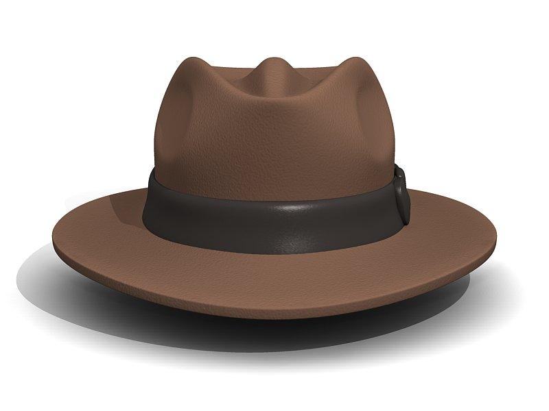 Fedora Adventuring - Indiana Jones Hat 3D Model in Clothing 3DExport