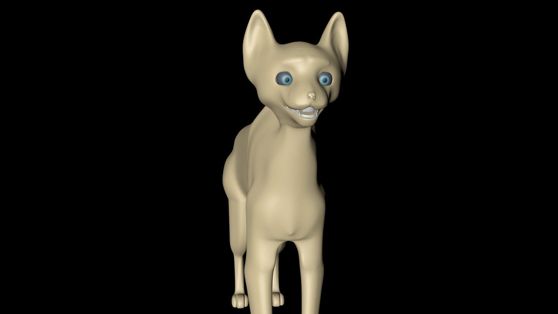 CAT Tim Burton obj Cinema 4d CAT 3D Model in Cat 3DExport