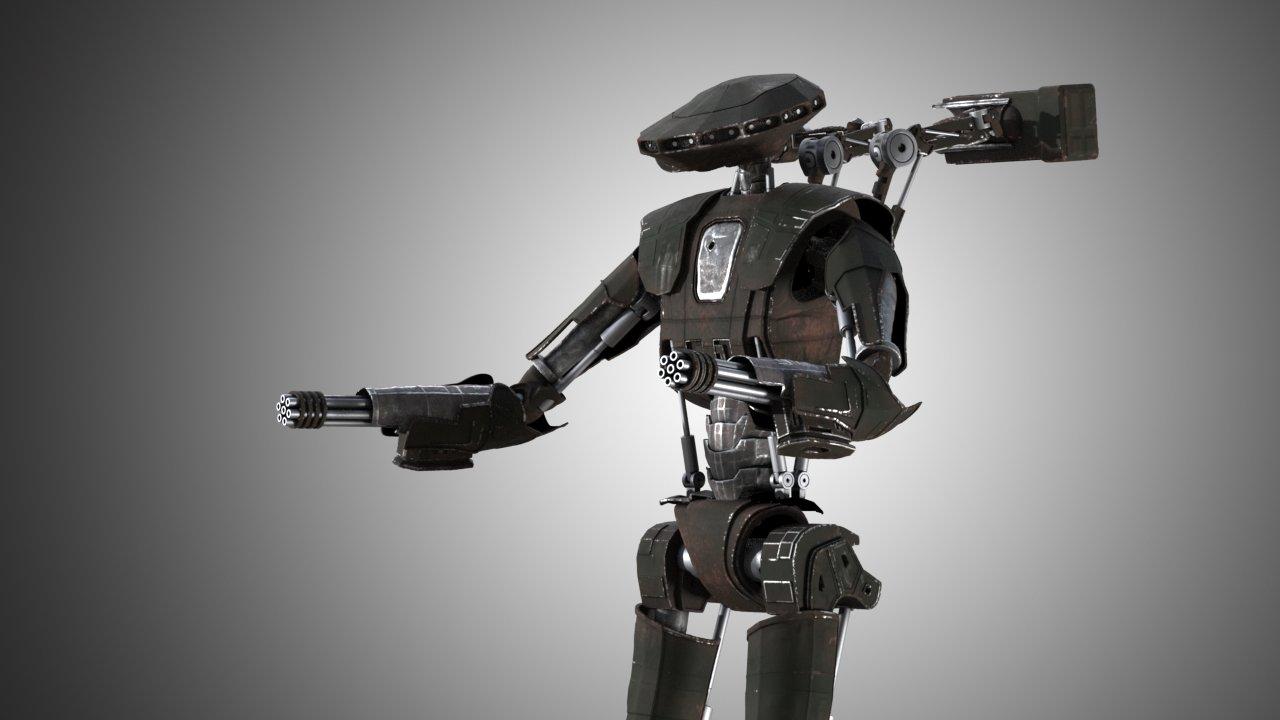 Robot 3D Model in Robot 3DExport