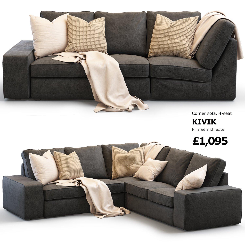 ikea kivik corner sofa