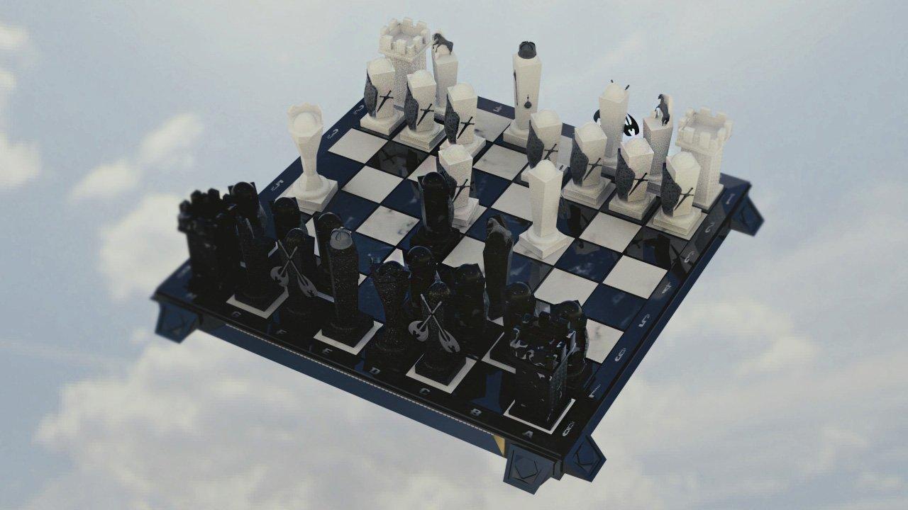 Chess for real men 3D Model in Board Games 3DExport