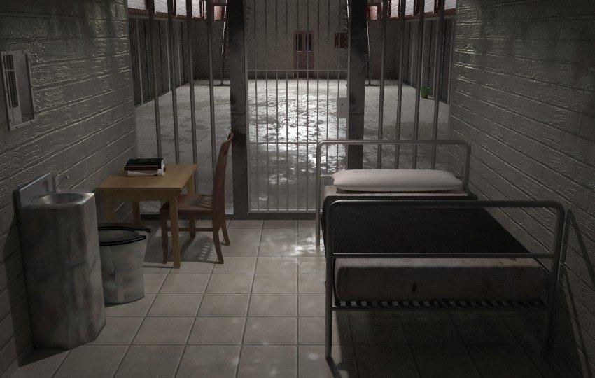 prison cell 3d model in bedroom 3dexport