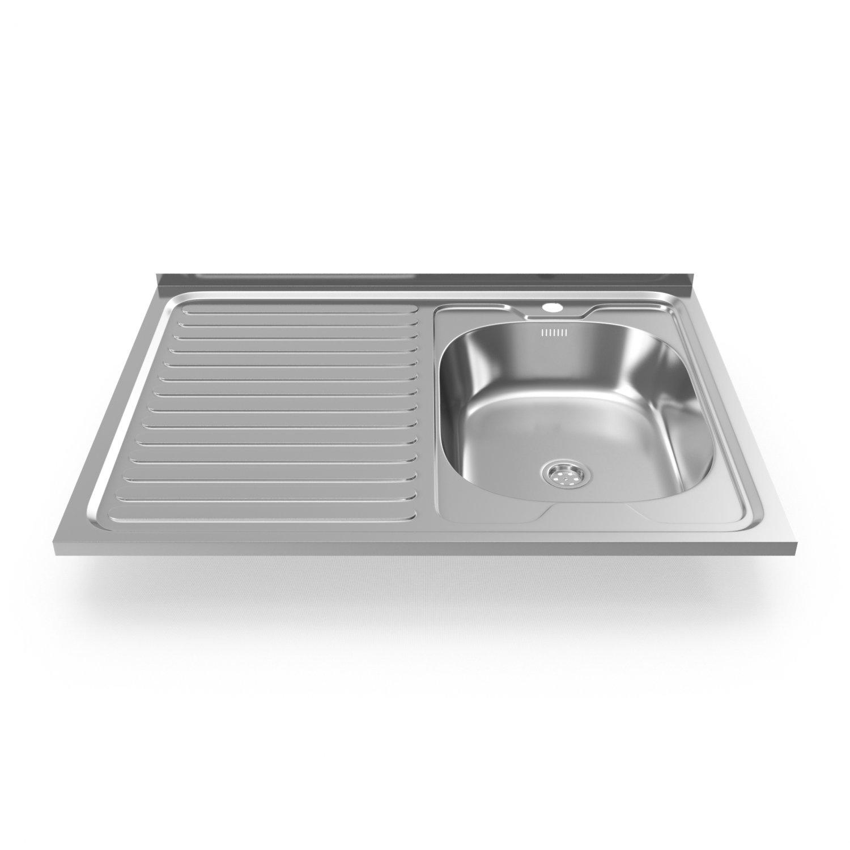 Kitchen Sink Ledeme 3D Model in Cookware Tools 3DExport