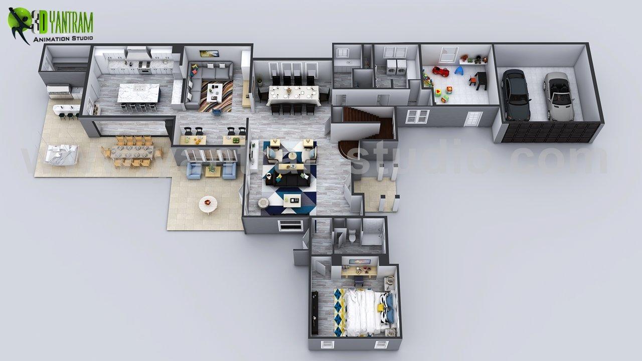 3D House Floor plan Designs ideas Images By Yantram 3d virtual floor ...
