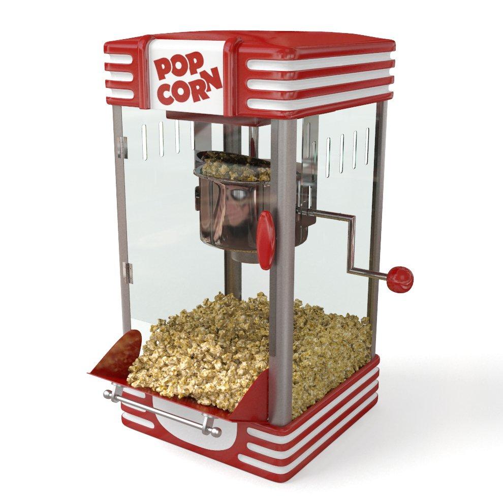 Popcorn machine 3D Model in Store Spaces 3DExport