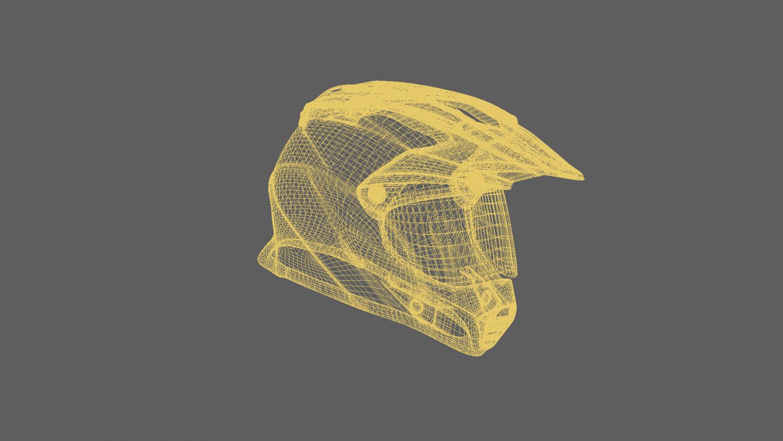 Bike helmet gear 3D Model in Motorcycle 3DExport