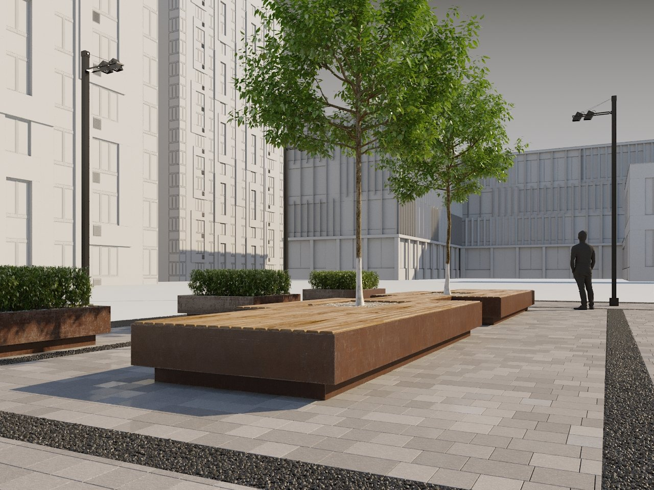 Street Decor part 020 3D Model in Cityscapes 3DExport