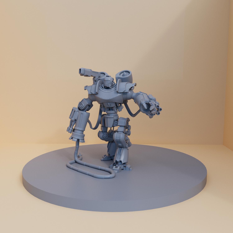 Justice robot 3D Model in Monsters & Creatures 3DExport