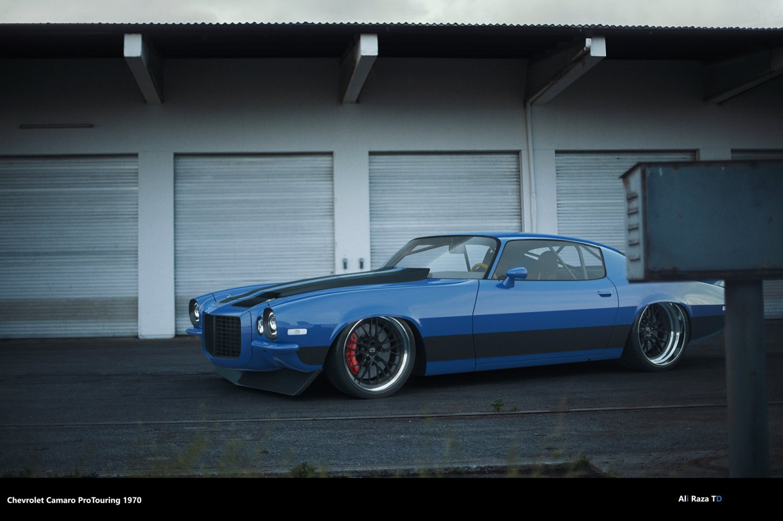 Pro Touring Camaro >> Chevrolet Camaro 1970 Pro Touring 3d Model In Spor Araba 3dexport