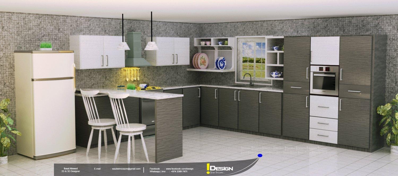 Kitchen Design 3d Model In Kitchen 3dexport